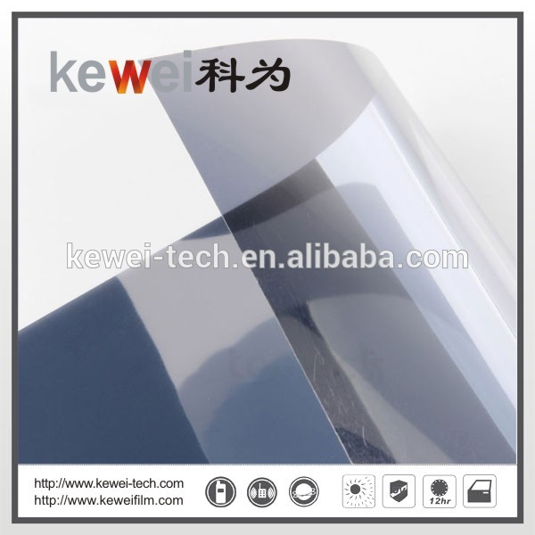 Building Window glass film/energy saving and decoration film(Silver)